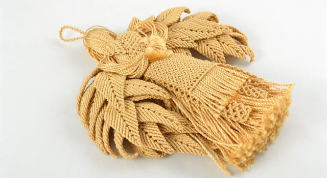 Culture Trivia Question: In textile production, what is the knotting technique called?