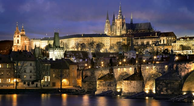 Geography Trivia Question: In which city will you find the castle shown in the picture?