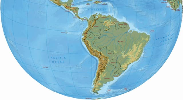 Geography Trivia Question: In which country will you find the highest and the lowest points in South America?