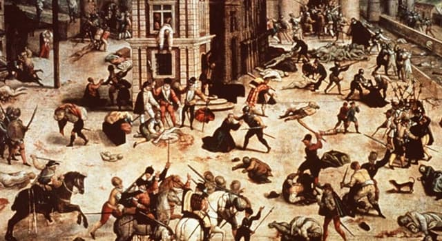 History Trivia Question: In which country did the massacre of Catholics called the Michelade take place?