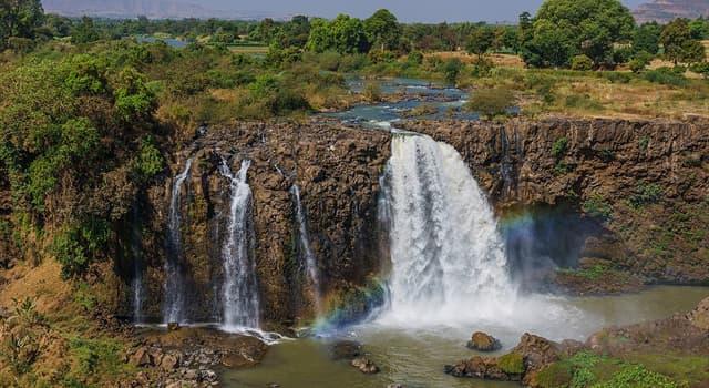 Географія Запитання-цікавинка: Як називається річка, яка є правою притокою Нілу?