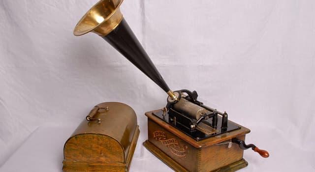Наука Запитання-цікавинка: Як називався перший прилад для запису і відтворення звуку?