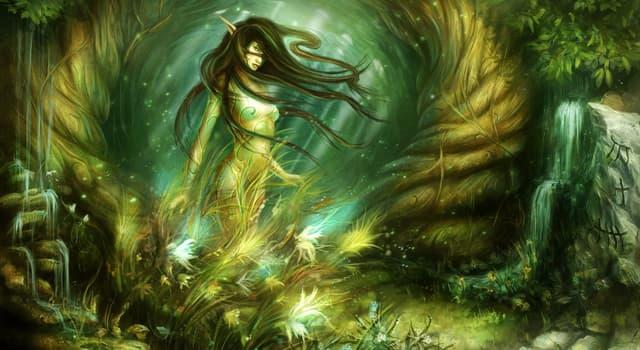 Культура Запитання-цікавинка: Як в германо-скандинавської міфології називаються духи природи?