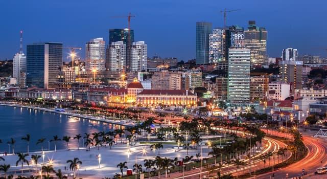 Географія Запитання-цікавинка: Яке місто є столицею Анголи?