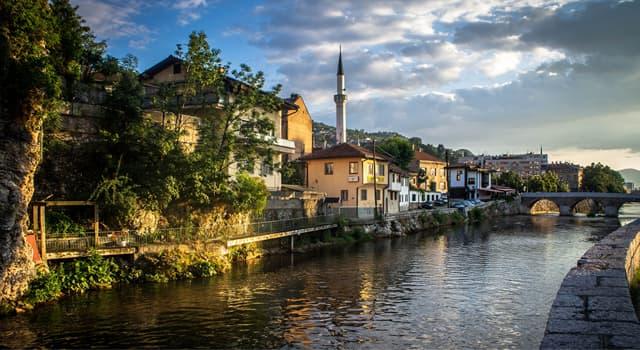 Географія Запитання-цікавинка: Яке місто є столицею Боснії і Герцеговини?
