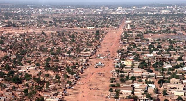 Географія Запитання-цікавинка: Яке місто є столицею Буркіна-Фасо?