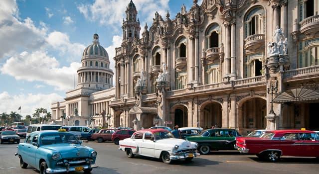 Географія Запитання-цікавинка: Яке місто є столицею Куби?