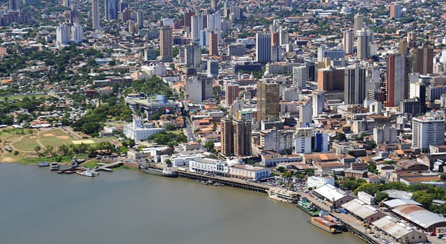 Географія Запитання-цікавинка: Яке місто є столицею Парагваю?