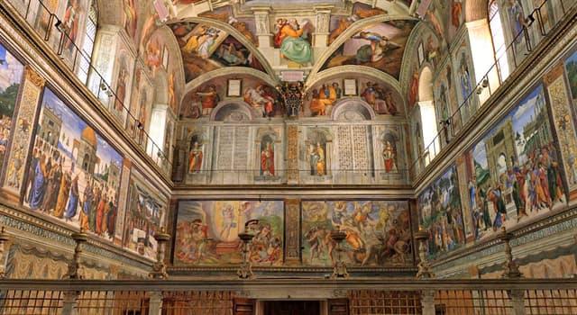 Культура Запитання-цікавинка: Який живописець також прикрашав своїми розписами стіни Сікстинської капели?
