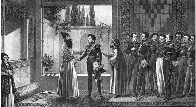 Historia Pregunta Trivia: ¿Qué países firmaron el acuerdo de paz conocido como Tratado de Gulistán?