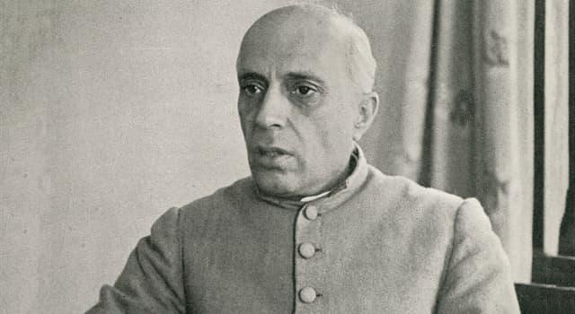Історія Запитання-цікавинка: Політичним діячем якої країни був Джавахарлал Неру?