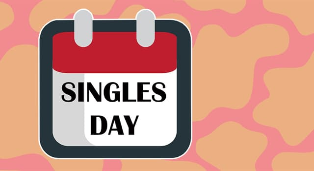 Society Trivia Question: Singles Day occurs on which date?