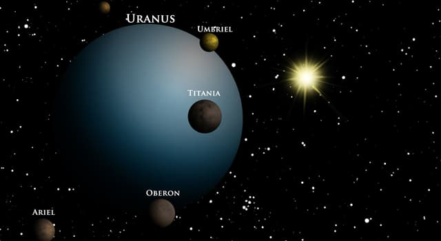"""Наука Запитання-цікавинка: Скільки супутників планети Уран названі в честь героїв поеми Олександра Поупа """"Викрадення локона»?"""
