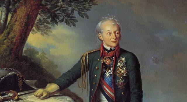 Історія Запитання-цікавинка: Скільки боїв програв А. В. Суворов за всю свою кар'єру полководця?