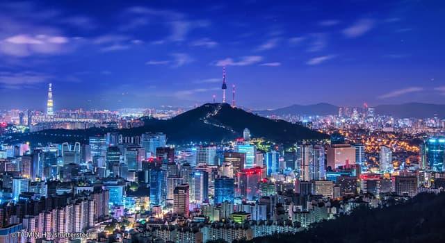 Географія Запитання-цікавинка: Столиця Південної Кореї?