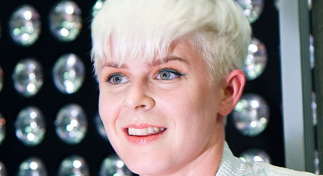 Culture Trivia Question: The artist in the picture is known as Robyn, what is her real name?