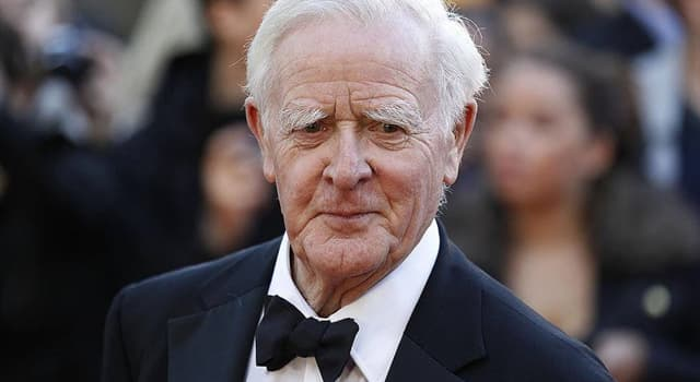 Culture Trivia Question: The author in the picture goes by the pen name John le Carré, what is his real name?