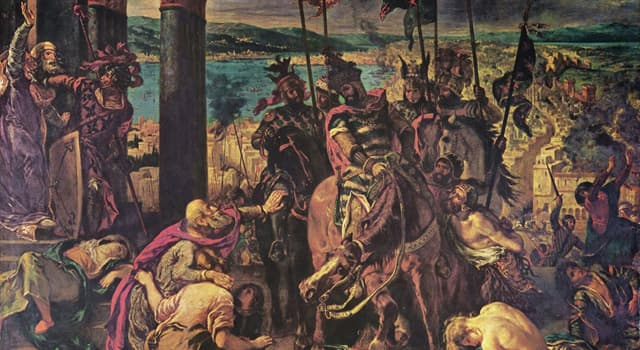 History Trivia Question: The Battle of Arsuf was a battle of which Crusade?