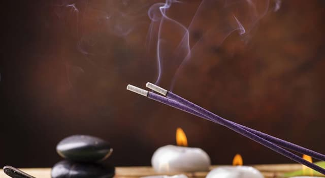 History Trivia Question: The incense trade route served as a channel for the trading of which goods?