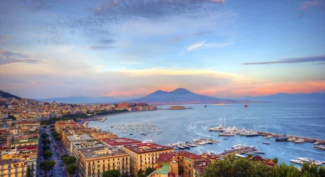 Географія Запитання-цікавинка: В якій країні розташоване місто Неаполь?