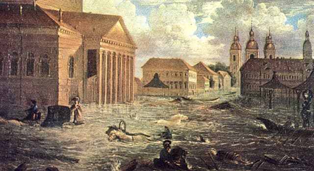 Історія Запитання-цікавинка: В якому році відбулося саме руйнівна повінь за всю історію Санкт-Петербурга?