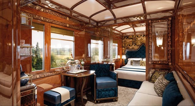 History Trivia Question: What are the two city names most prominently associated with the Orient Express?