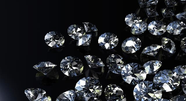 Culture Trivia Question: What is a diamond simulant originally made from crystal glass called?