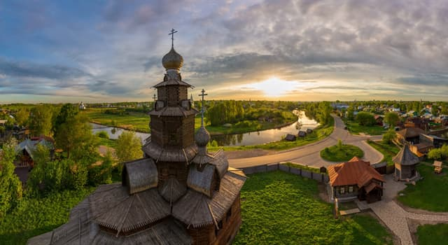 Culture Trivia Question: What is the name of a tourist route that encircles ancient Russian towns?