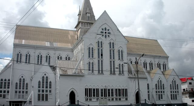 Geography Trivia Question: What is the capital of Guyana?