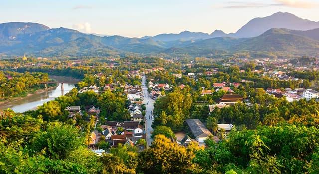 Географія Запитання-цікавинка: Яке місто є столицею Лаосу?