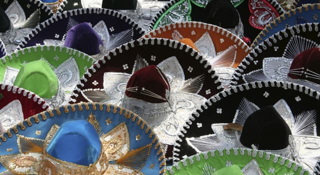 Culture Trivia Question: What is the hat that is a part of the Mexican national costume called?