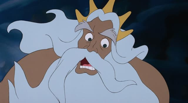 """Movies & TV Trivia Question: What is the name of Ariel's father in """"The Little Mermaid""""?"""