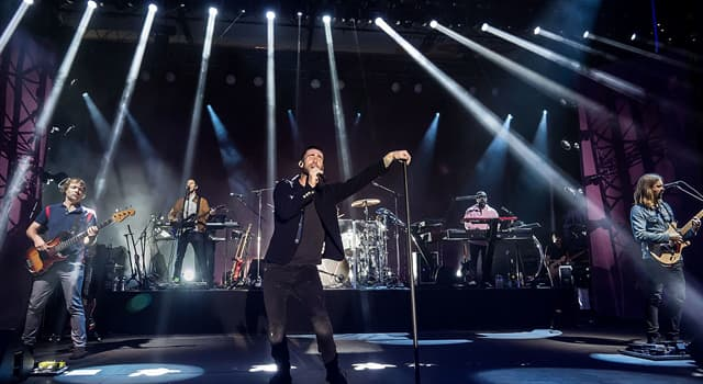 Society Trivia Question: What is the name of the lead vocalist in the band called Maroon 5?