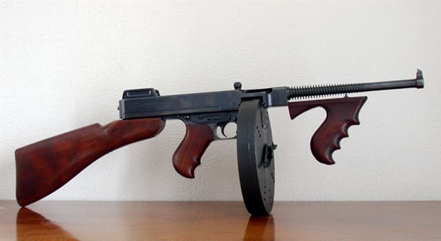 History Trivia Question: What is the name of this iconic weapon?