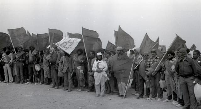 History Trivia Question: What was the strategic mass demonstration of Moroccans in November 1975 called?