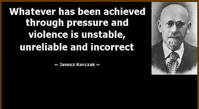 Culture Trivia Question: What was the name of Janusz Korczak at birth?