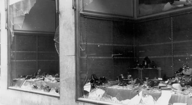 """History Trivia Question: In which year did """"Kristallnacht"""" occur?"""