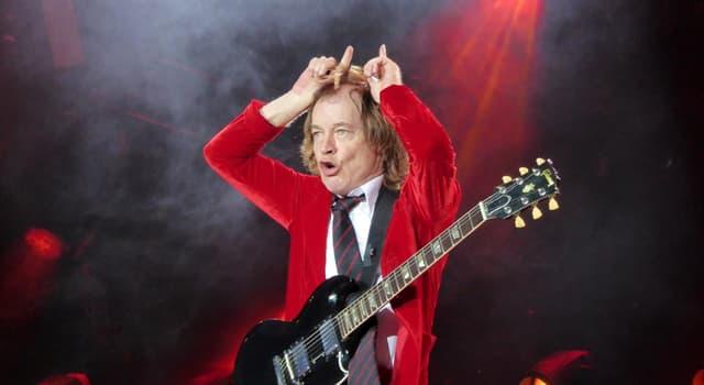 Cultura Pregunta Trivia: ¿En qué año se formó la banda de rock AC/DC?