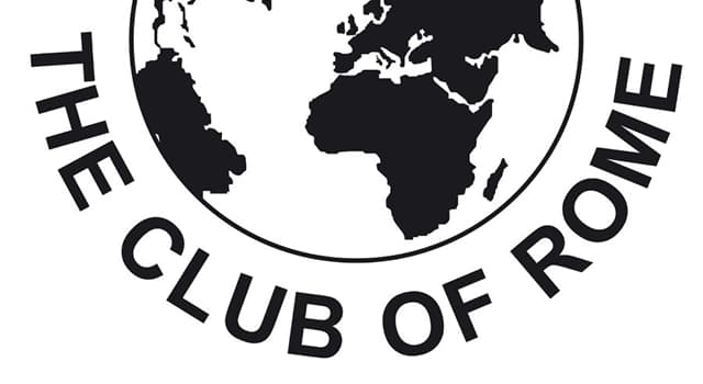 History Trivia Question: When was the Club of Rome founded?