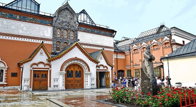History Trivia Question: When was the State Tretyakov Gallery founded?