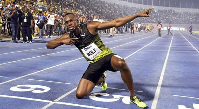 Sport Trivia Question: Where does athlete Usain Bolt come from?