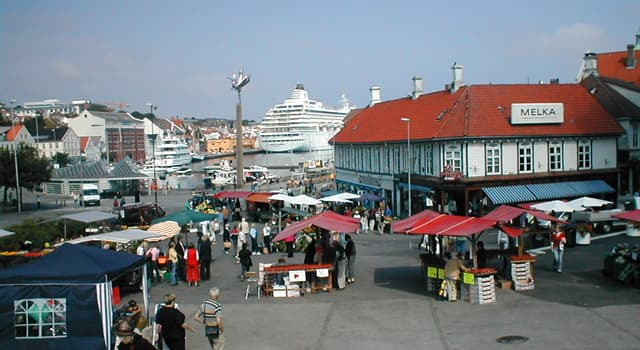Geography Trivia Question: Where is the city of Stavanger located?