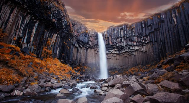 Geography Trivia Question: Where is this waterfall located?
