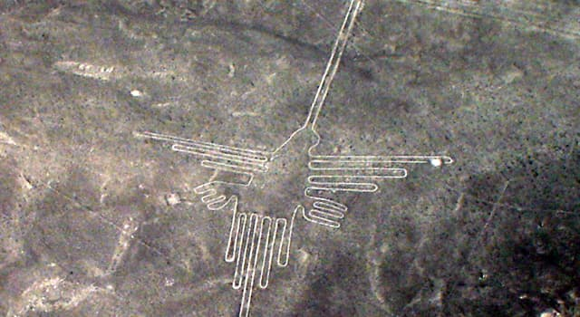 Geography Trivia Question: Where would you find the geoglyphs named 'Nazca Lines'?