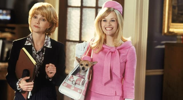 """Movies & TV Trivia Question: Which actress played the main role in the American comedy film """"Legally Blonde""""?"""