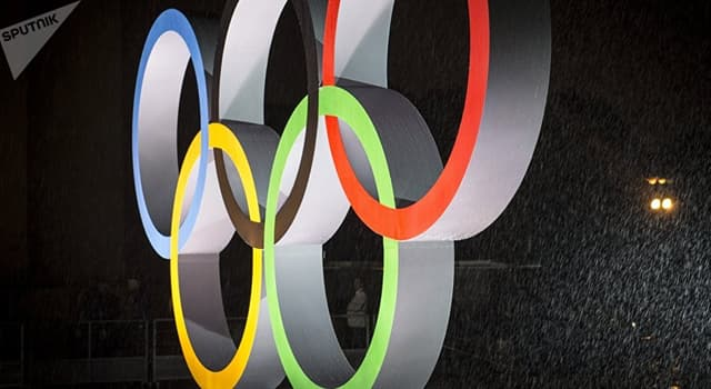 Culture Trivia Question: Which continent does the yellow Olympic ring stand for?