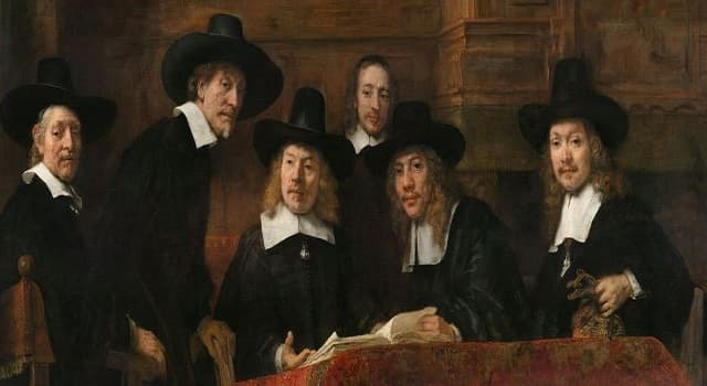 Culture Trivia Question: This painting by Rembrandt depicts a group of people of which profession?  ?