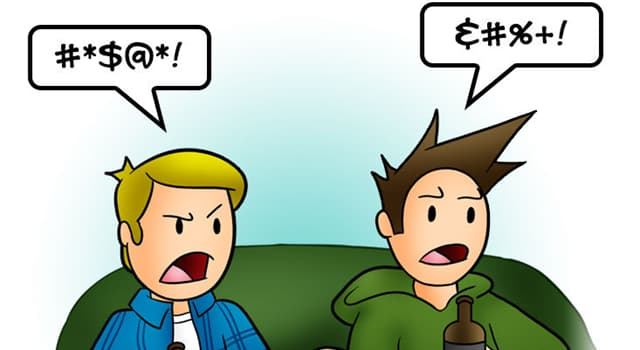 Culture Trivia Question: Which is the name for the typographical comments that cartoonists use for curse words?