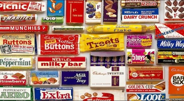 Society Trivia Question: Which one of the following well-known U.K. confectionery items was the first to be produced?