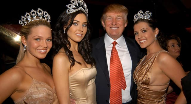 Society Trivia Question: Which organization did Donald Trump own from 1996 till 2015?